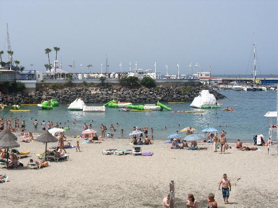HOVIMA La Pinta : la playa delante del hotel