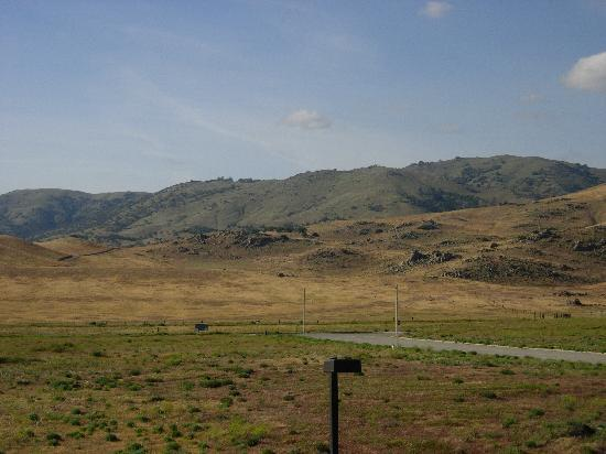View from Holiday Inn Tehachapi