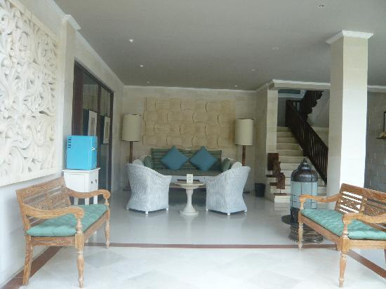 Cinta Inn: Lobby de l'hôtel