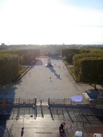 Μονπελιέ, Γαλλία: La Place Royale du Peyrou, au nord du centre historique