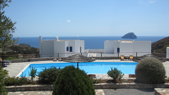 Kapsali, Hellas: Panoramic View from the pool