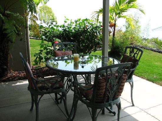 Horizon Guest House: Our private terrace
