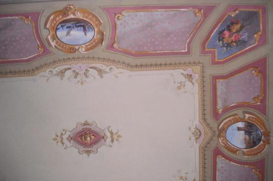 Hotel Il Duca: the ceiling