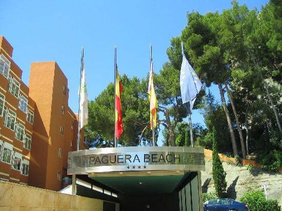Paguera Beach Aparthotel: Entrance