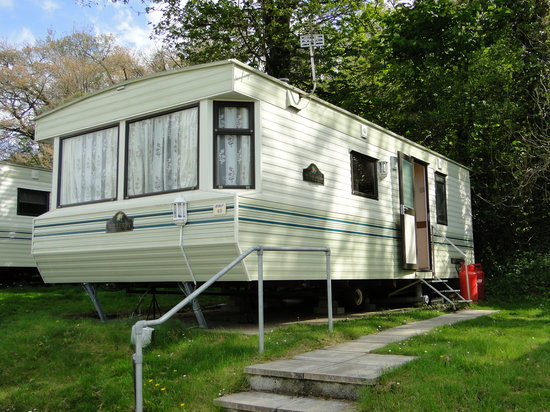 Combe Martin Beach Holiday Park: Our caravan