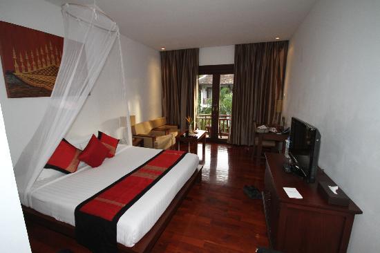 โรงแรมกรีน พาร์ค บูติค: room