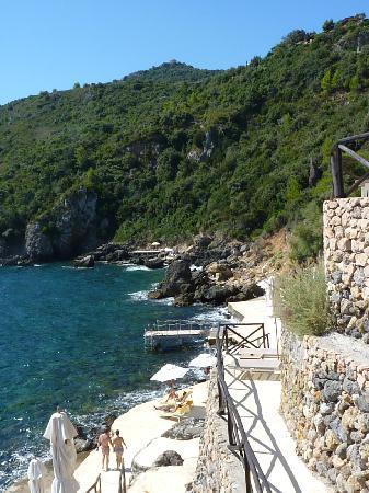 Hotel Il Pellicano: Sea