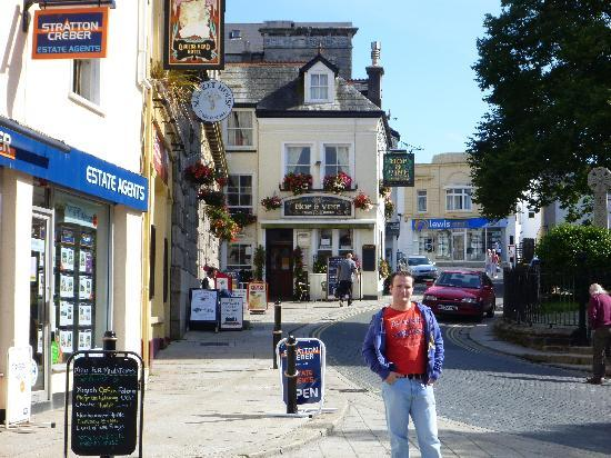 Lowarn: St Austell city centre