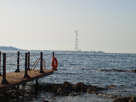 Altafiumara Resort & SPA: Spiaggia privata