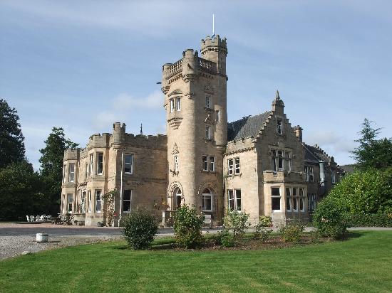 Mansfield Castle Hotel: Mansfield castle