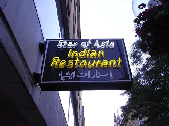 Star of Asia: 看板