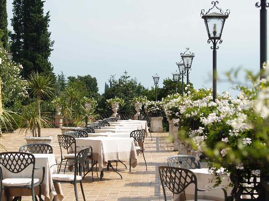 Hotel Villa del Sogno : Terrace