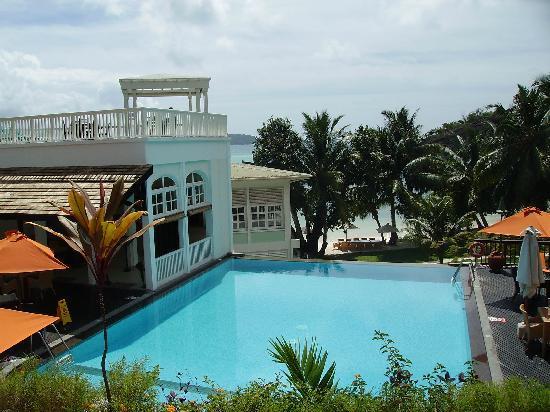 Hotel L'Archipel: hotel pool