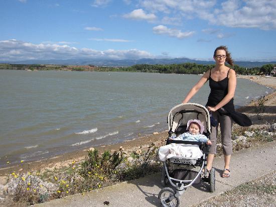 Port Minervois : promenade le long du lac
