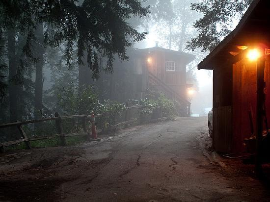 Deetjen's Big Sur Inn: Misty Big Sur Morning