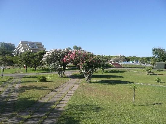 Aurum Hotel - Villaggio dei Pini: Parco discesa al mare