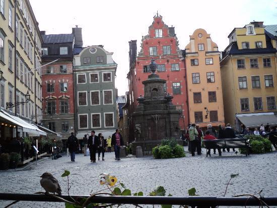 Estocolmo, Suecia: Stortoget -Gamla Stand