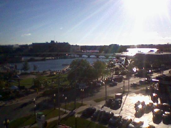 Riverwalk Hotel Downtown Neenah: View from the room