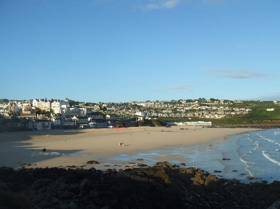 St Ives, UK: Porthmeor Beach