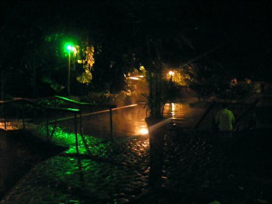 La Fortuna de San Carlos, Costa Rica: hot springs at night