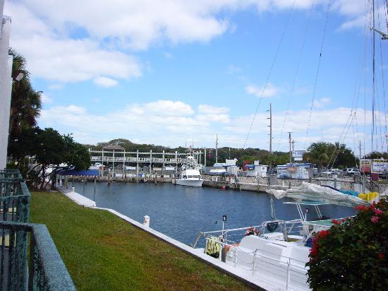 Holiday Inn Key Largo: View from balcony