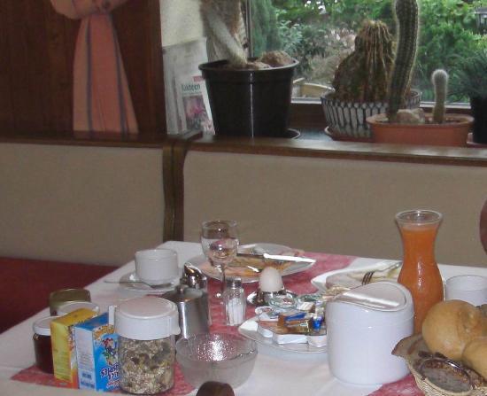 Hotel Restaurant Pfeffermuhle : Frühstück