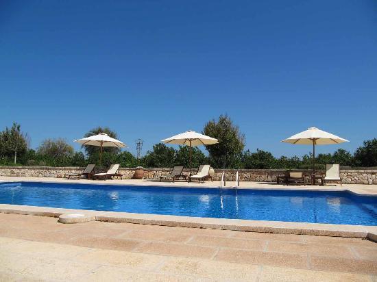 Hotel Migjorn: Peaceful swimming pool