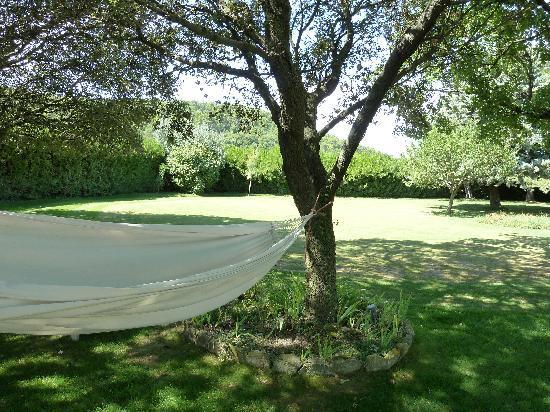 Le Mas du Magnolia: vue depuis mas sur Ménerbes