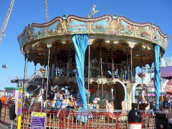 Wildwood, NJ: Carousel on Moreys Piers 2010