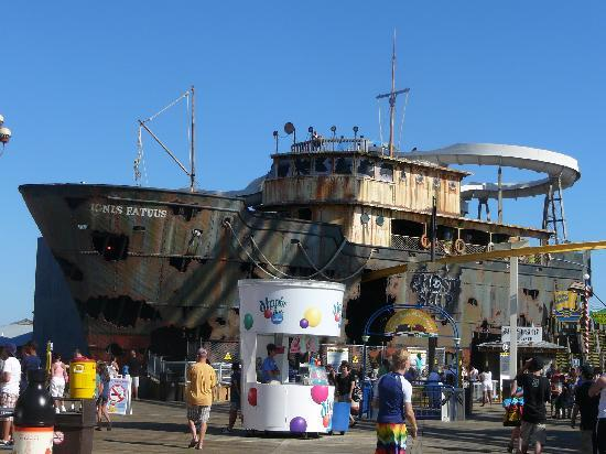Morey's Piers and Beachfront Water Parks: Ingus Fatuus Ghost Ship Moreys Piers 2010
