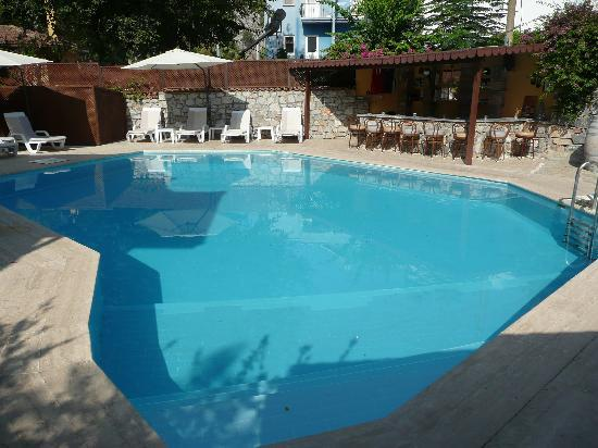 Bin Kaya Hotel: The pool area