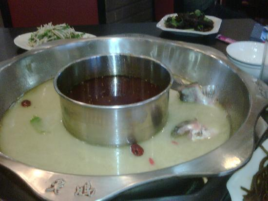 Suzhou, China: Hot Pot Restaurant