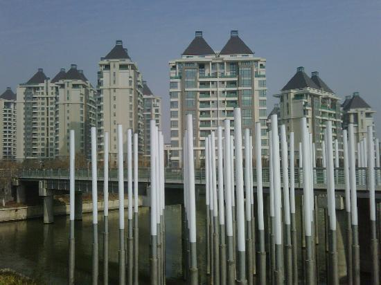 Suzhou, Chine : ein Bild aus der Stadt SIP
