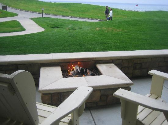 The Ritz Carlton Half Moon Bay Balcony Fire Pit