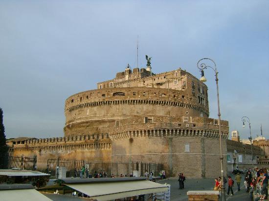 Rom, Italien: el castillo