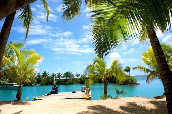 Wananavu Beach Resort: Marina