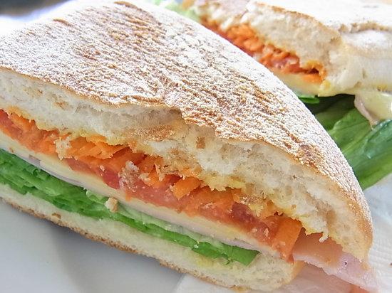 Chill Cafe : Fresh sandwich!