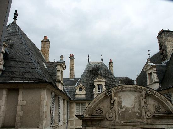 Best Western Hotel D'Angleterre: View out the side window