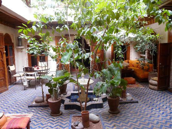 Riad Maipa: patio