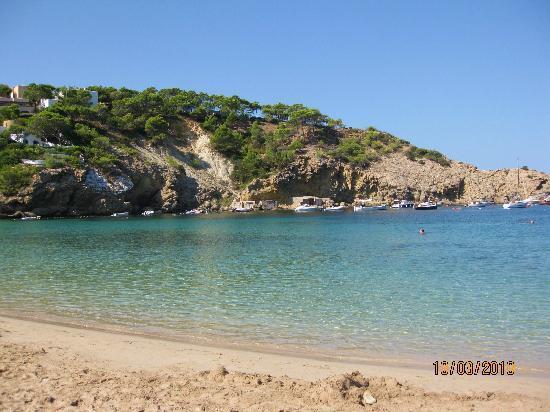 Puerto Cala Vadella : Cala Vadella beach