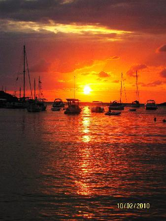 Puerto Cala Vadella: One of the many gorgeous sunsets