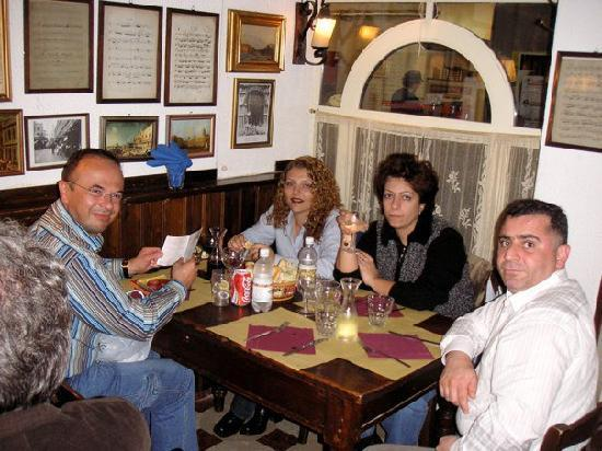 Osteria Al Mascaron : Al Mascaron Restaurant,Venice,Italy
