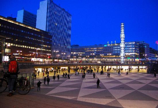 Stoccolma, Svezia: Sergels Torg