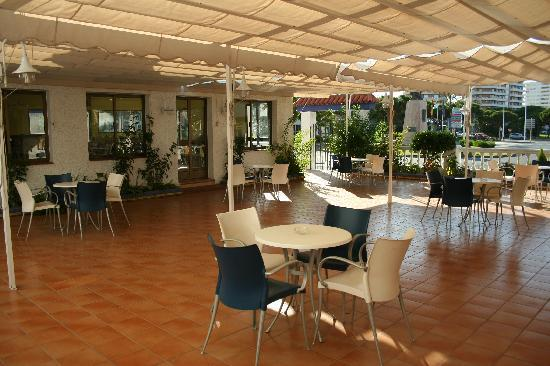 Ayamontino: Bar Terraza