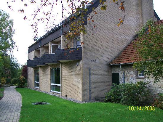 Haus Ridder: balkonen, auch am einzelzimmer