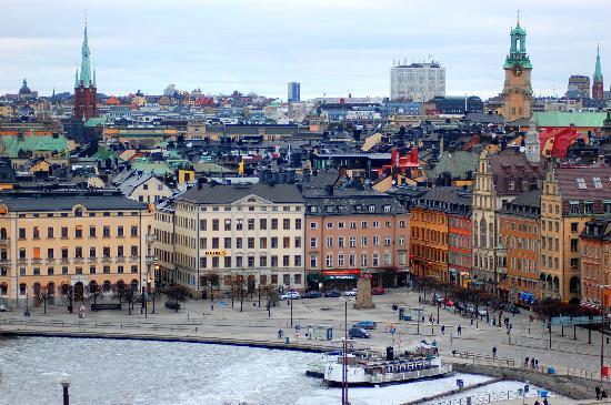 Stockholm, Sweden: Panorama di Stoccolma
