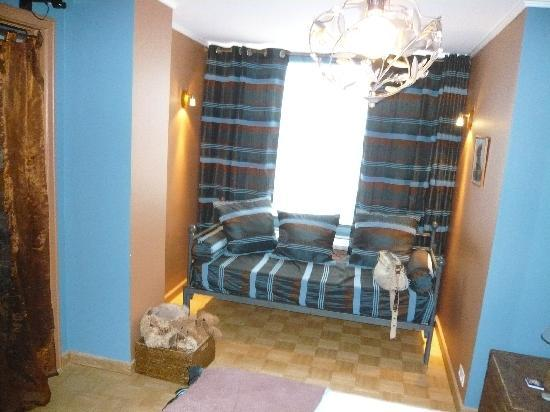 Full House Hotel: Sitzecke im Zimmer TeddyBär