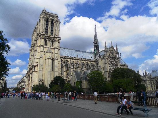 Paris, Fransa: Notre Dame Cathedral