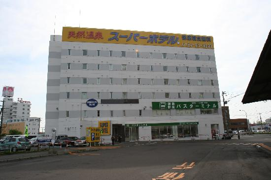 Super Hotel Kushiroekimae: スーパーホテルです。