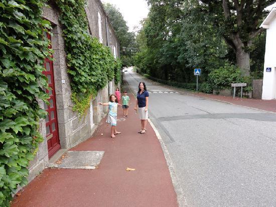 Maison de la Malnaye : Outside the House